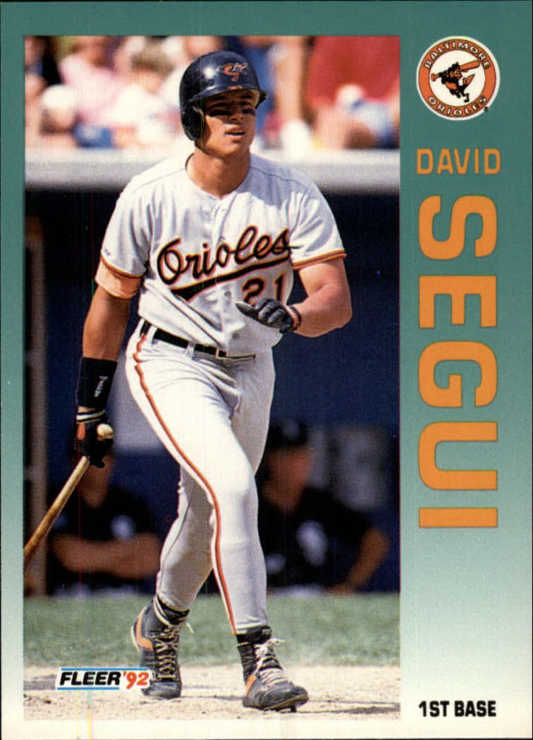 1992 Fleer #27 David Segui