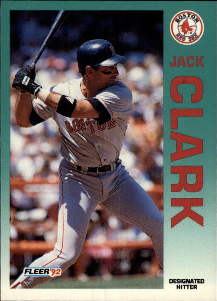 1992 Fleer #36 Jack Clark