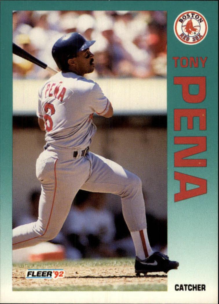 1992 Fleer #43 Tony Pena