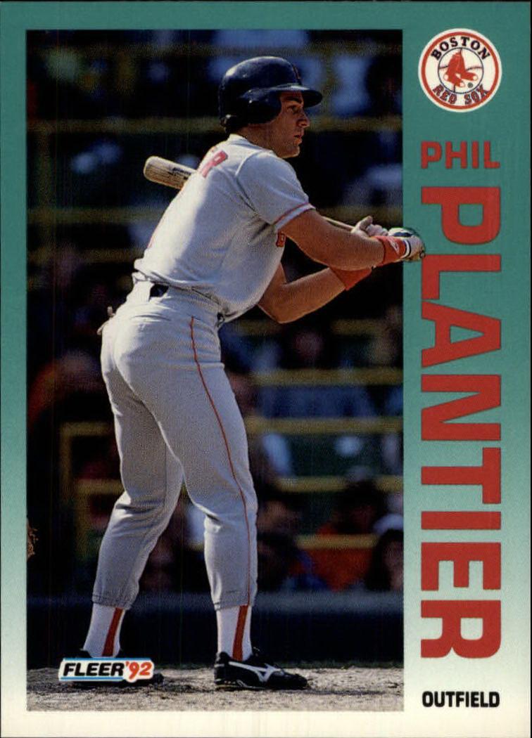 1992 Fleer #44 Phil Plantier