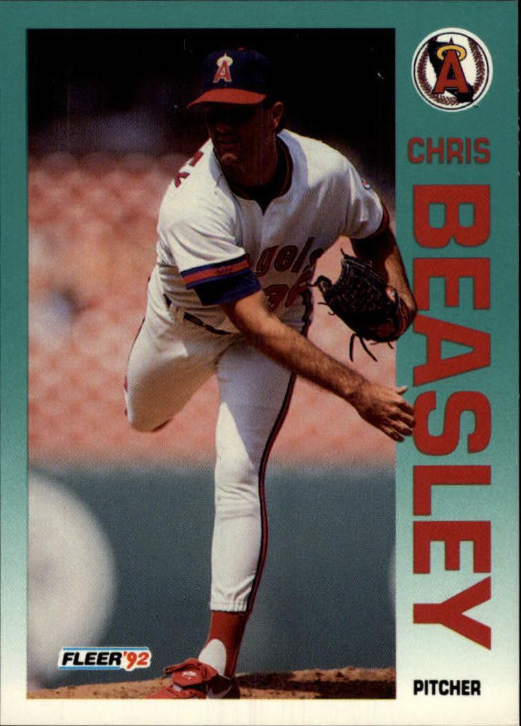 1992 Fleer #54 Chris Beasley