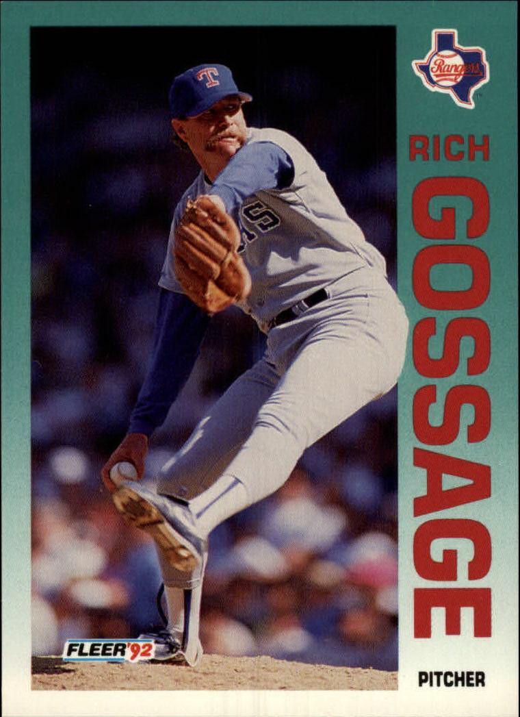 1992 Fleer #305 Rich Gossage
