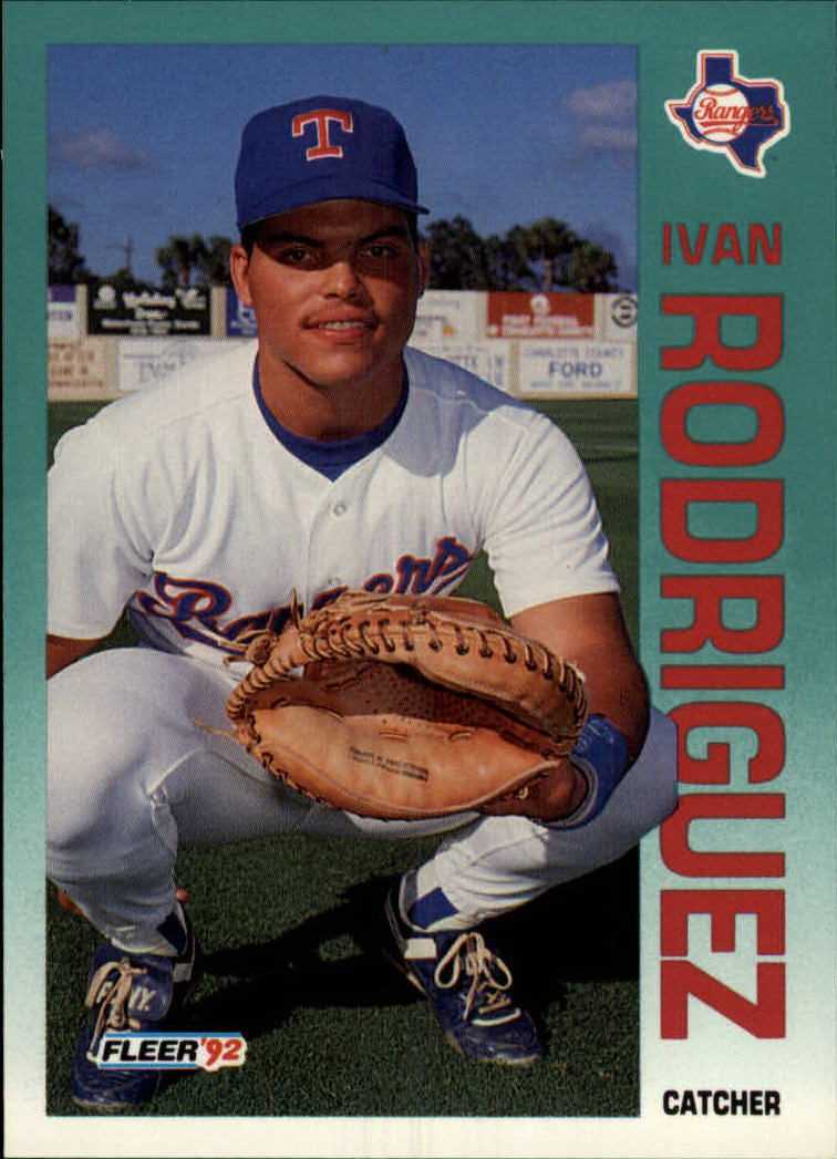 1992 Fleer #316 Ivan Rodriguez