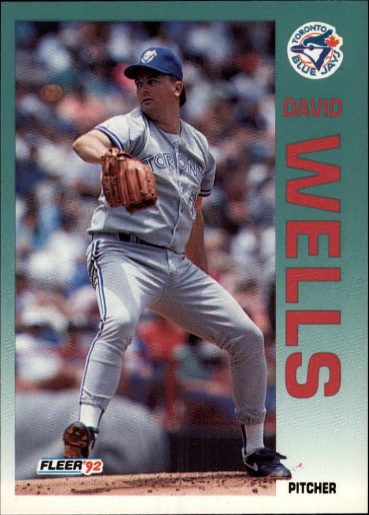 1992 Fleer #345 David Wells