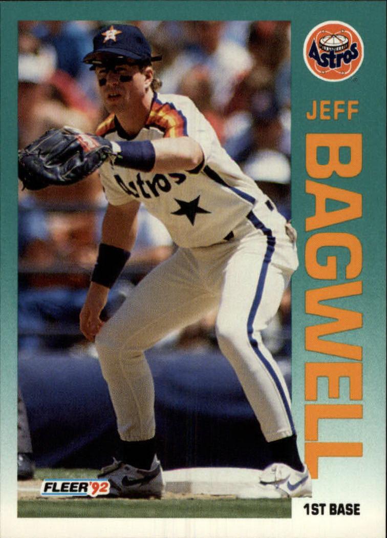 1992 Fleer #425 Jeff Bagwell
