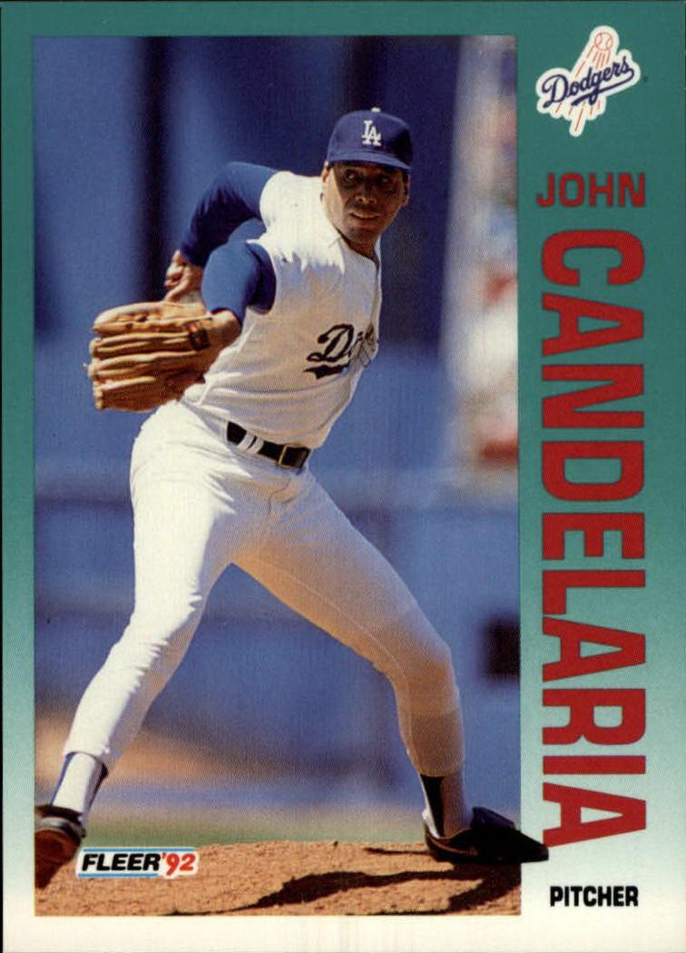 1992 Fleer #449 John Candelaria
