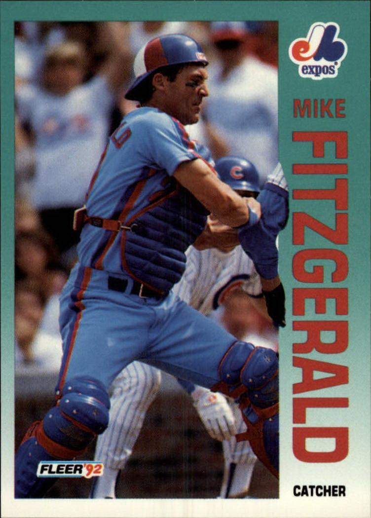 1992 Fleer #478 Mike Fitzgerald