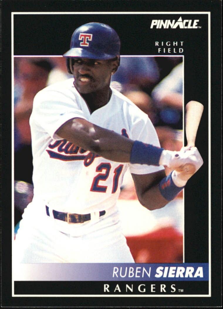 1992 Pinnacle #14 Ruben Sierra