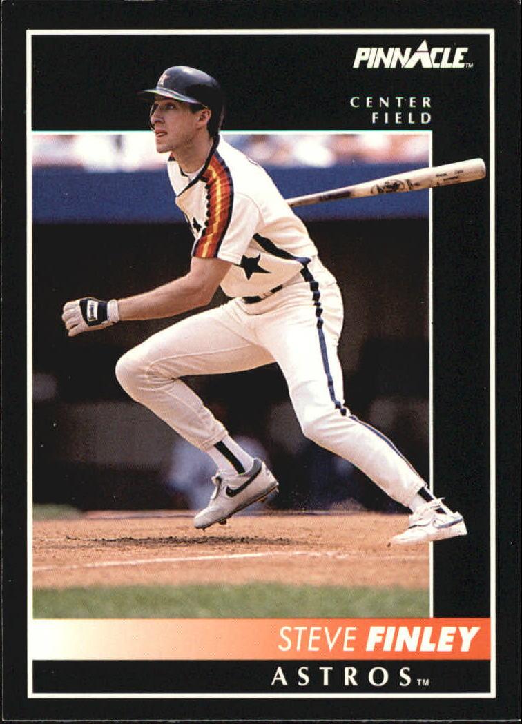 1992 Pinnacle #19 Steve Finley