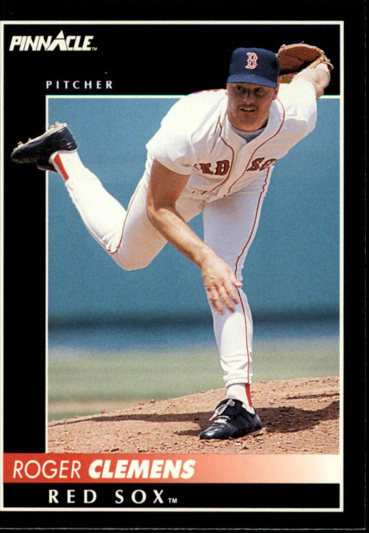 1992 Pinnacle #95 Roger Clemens