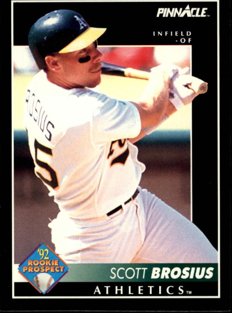 1992 Pinnacle #274 Scott Brosius RC