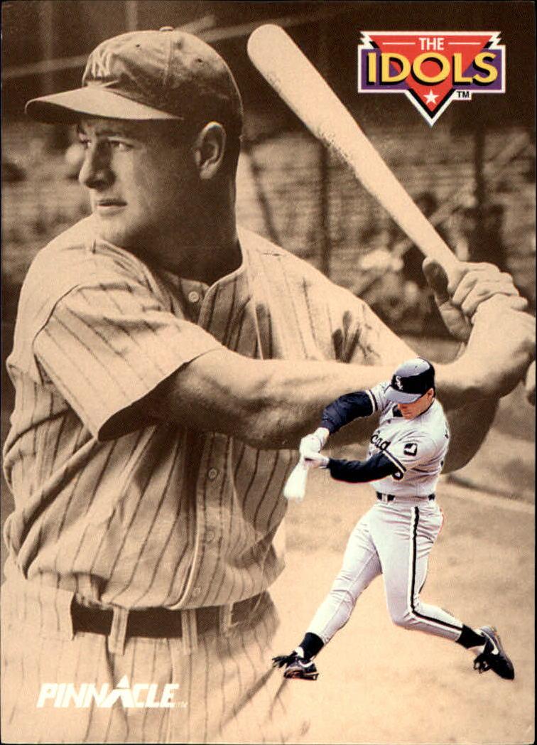 1992 Pinnacle #286 Robin Ventura I/Lou Gehrig