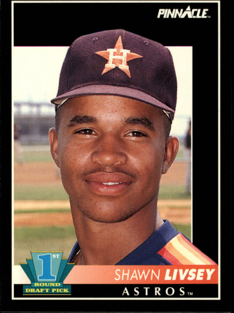 1992 Pinnacle #545 Shawn Livsey RC