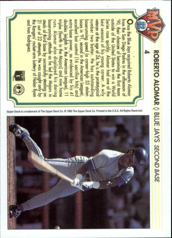1992-Upper-Deck-Team-MVP-Holograms-You-Pick-Buy-10-cards-FREE-SHIP thumbnail 9