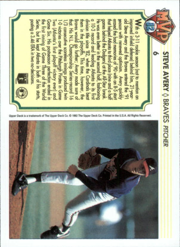 1992-Upper-Deck-Team-MVP-Holograms-You-Pick-Buy-10-cards-FREE-SHIP thumbnail 13