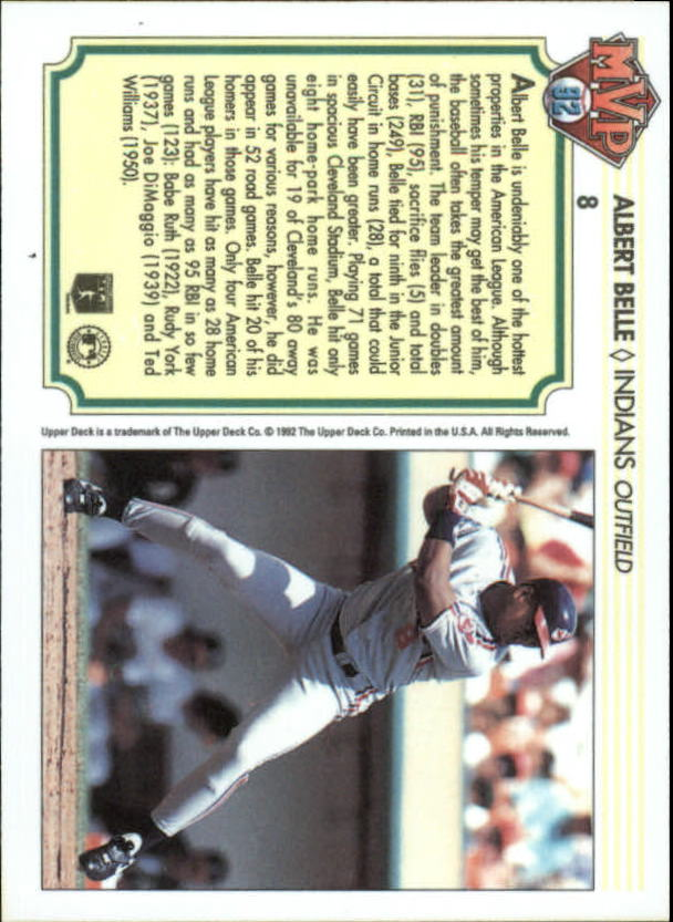 1992-Upper-Deck-Team-MVP-Holograms-You-Pick-Buy-10-cards-FREE-SHIP thumbnail 15