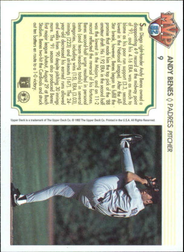 1992-Upper-Deck-Team-MVP-Holograms-You-Pick-Buy-10-cards-FREE-SHIP thumbnail 17