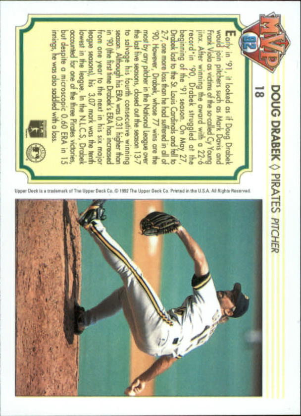 1992-Upper-Deck-Team-MVP-Holograms-You-Pick-Buy-10-cards-FREE-SHIP thumbnail 29