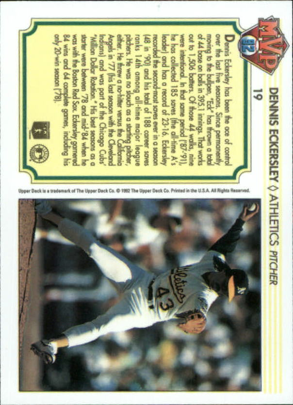 1992-Upper-Deck-Team-MVP-Holograms-You-Pick-Buy-10-cards-FREE-SHIP thumbnail 31