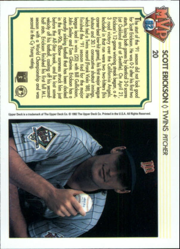 1992-Upper-Deck-Team-MVP-Holograms-You-Pick-Buy-10-cards-FREE-SHIP thumbnail 33