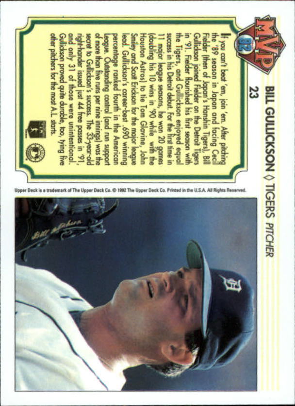 1992-Upper-Deck-Team-MVP-Holograms-You-Pick-Buy-10-cards-FREE-SHIP thumbnail 37