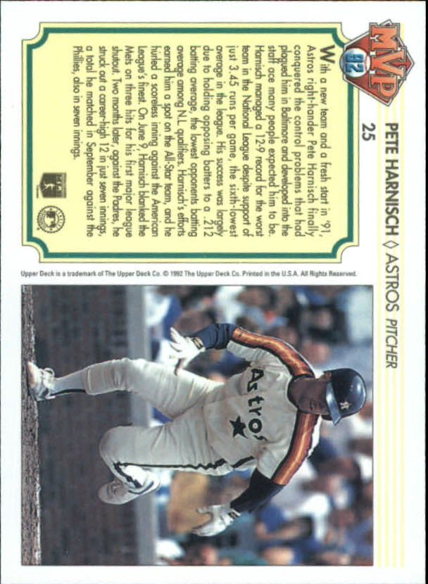 1992-Upper-Deck-Team-MVP-Holograms-You-Pick-Buy-10-cards-FREE-SHIP thumbnail 41
