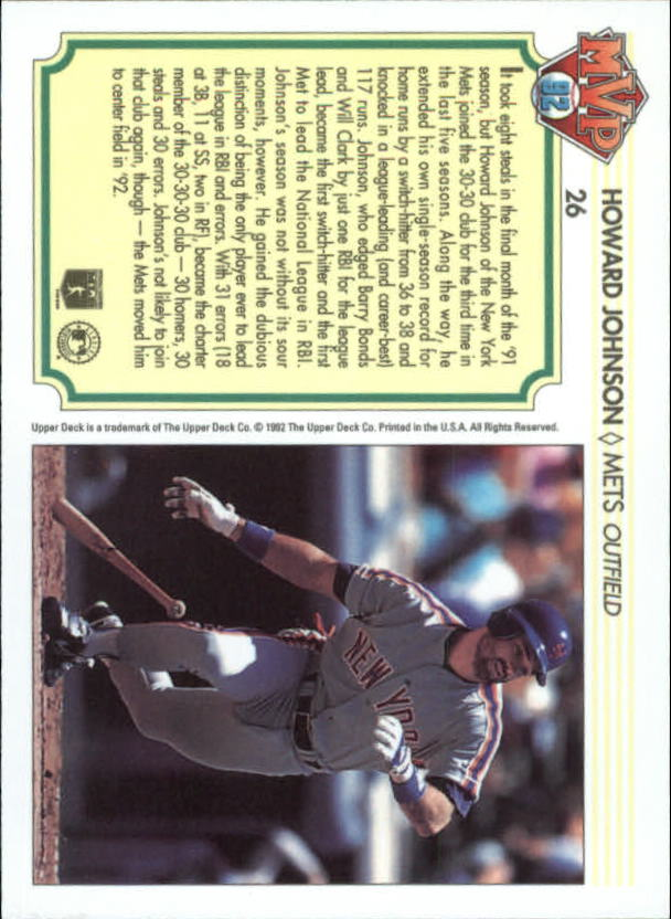 1992-Upper-Deck-Team-MVP-Holograms-You-Pick-Buy-10-cards-FREE-SHIP thumbnail 43