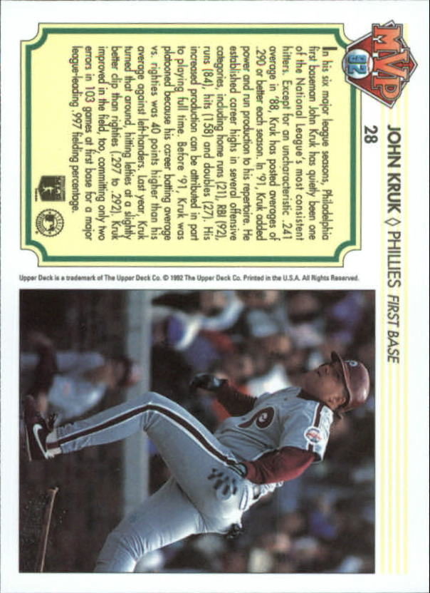 1992-Upper-Deck-Team-MVP-Holograms-You-Pick-Buy-10-cards-FREE-SHIP thumbnail 45