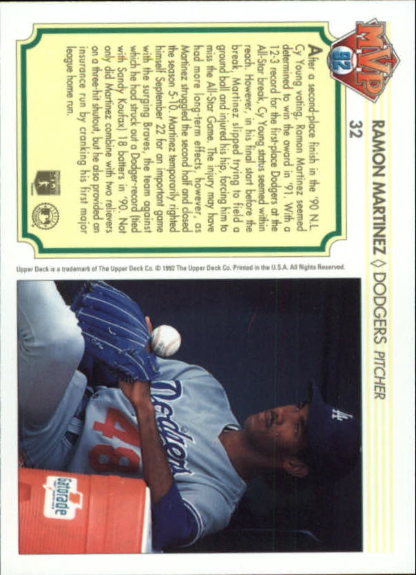 1992-Upper-Deck-Team-MVP-Holograms-You-Pick-Buy-10-cards-FREE-SHIP thumbnail 51