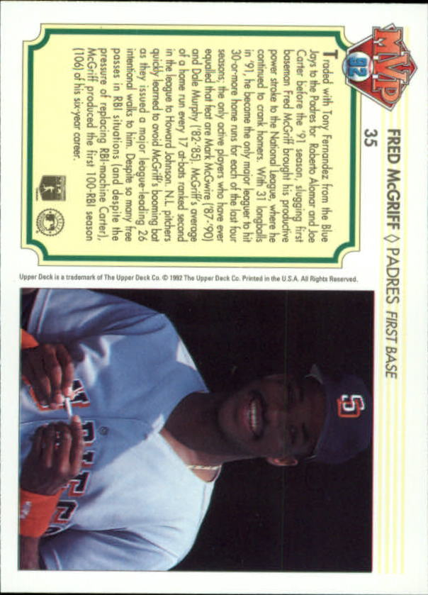 1992-Upper-Deck-Team-MVP-Holograms-You-Pick-Buy-10-cards-FREE-SHIP thumbnail 55