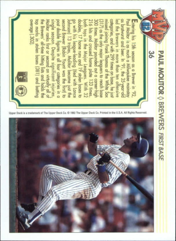 1992-Upper-Deck-Team-MVP-Holograms-You-Pick-Buy-10-cards-FREE-SHIP thumbnail 57