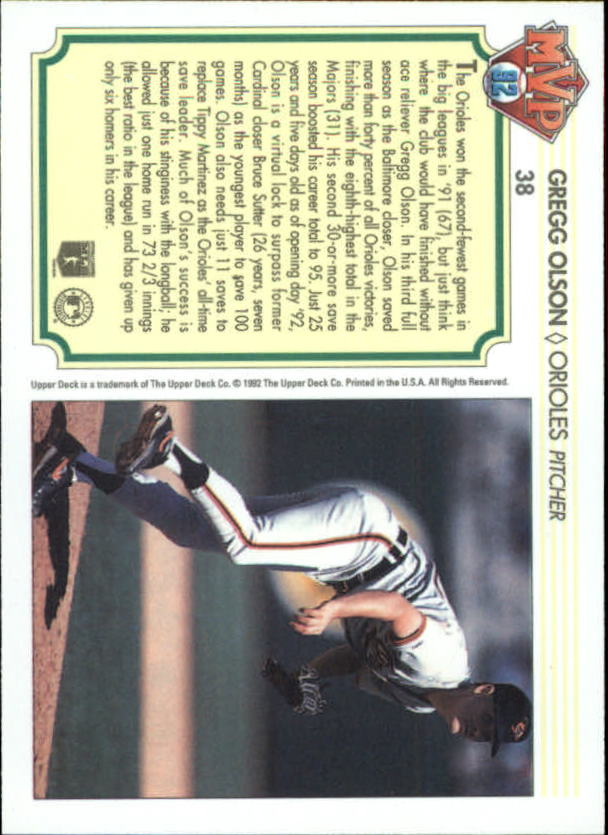 1992-Upper-Deck-Team-MVP-Holograms-You-Pick-Buy-10-cards-FREE-SHIP thumbnail 59