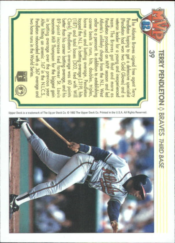 1992-Upper-Deck-Team-MVP-Holograms-You-Pick-Buy-10-cards-FREE-SHIP thumbnail 61