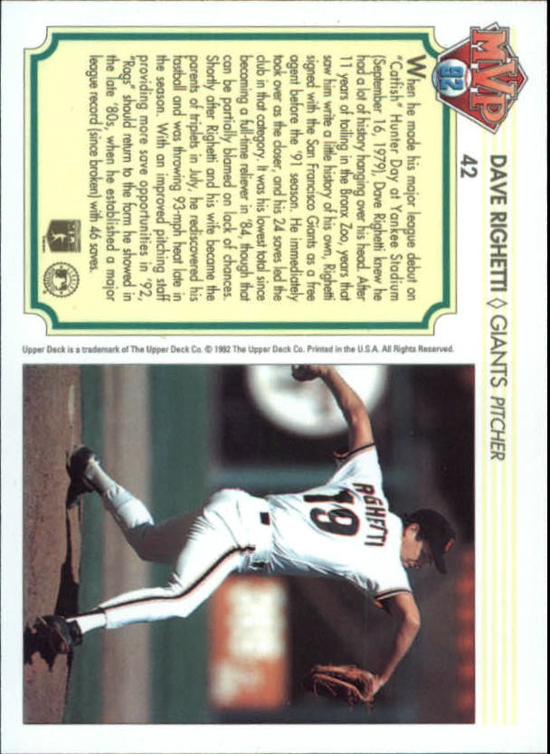 1992-Upper-Deck-Team-MVP-Holograms-You-Pick-Buy-10-cards-FREE-SHIP thumbnail 65