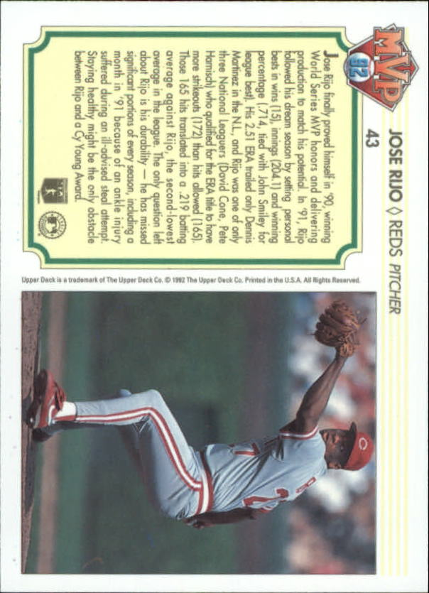 1992-Upper-Deck-Team-MVP-Holograms-You-Pick-Buy-10-cards-FREE-SHIP thumbnail 67