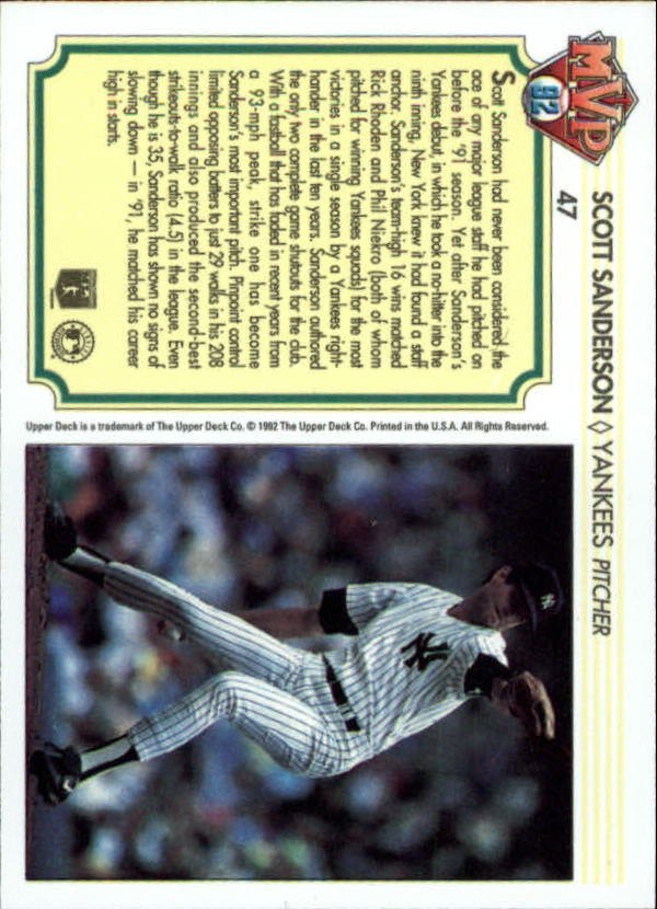 1992-Upper-Deck-Team-MVP-Holograms-You-Pick-Buy-10-cards-FREE-SHIP thumbnail 69