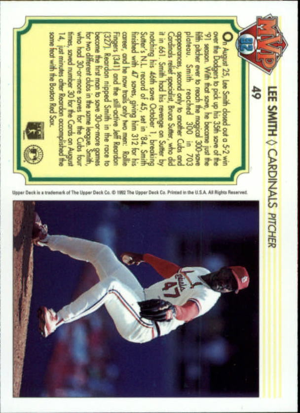 1992-Upper-Deck-Team-MVP-Holograms-You-Pick-Buy-10-cards-FREE-SHIP thumbnail 73
