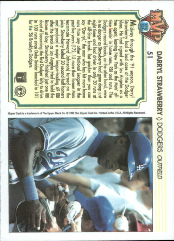 1992-Upper-Deck-Team-MVP-Holograms-You-Pick-Buy-10-cards-FREE-SHIP thumbnail 75
