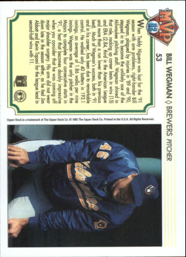 1992-Upper-Deck-Team-MVP-Holograms-You-Pick-Buy-10-cards-FREE-SHIP thumbnail 77