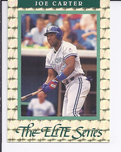1992 Donruss Elite #10 Joe Carter