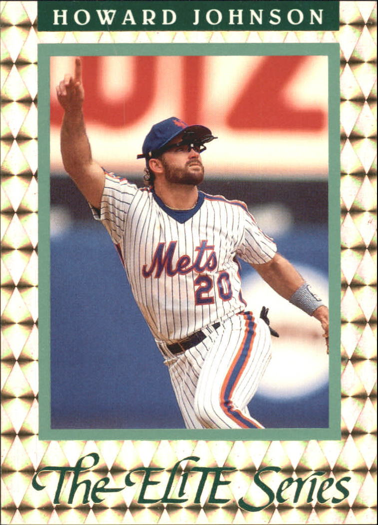 1992 Donruss Elite #15 Howard Johnson