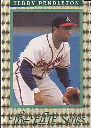 1992 Donruss Elite #16 Terry Pendleton