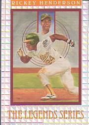 1992 Donruss Elite #L2 Rickey Henderson LGD/7500