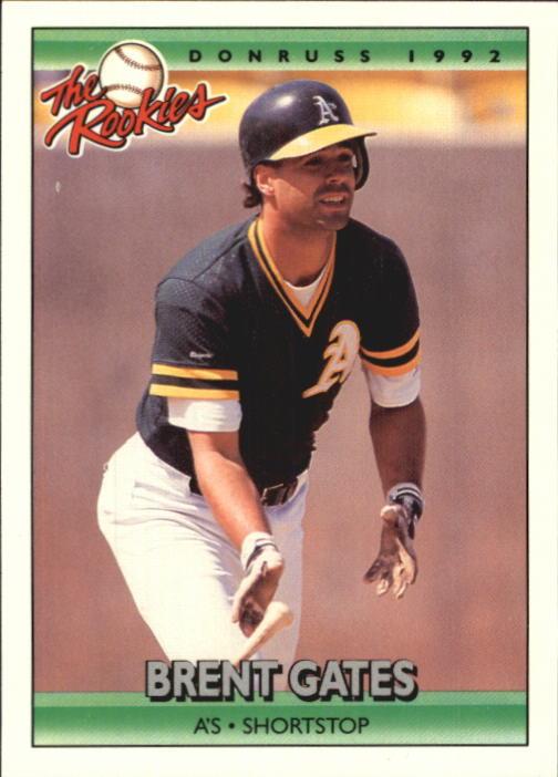 1992 Donruss Rookies #42 Brent Gates RC