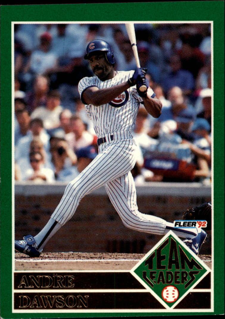 44cdbcc1e8 Buy 1992 Fleer Team Leaders Sports Cards Online | Baseball Card ...