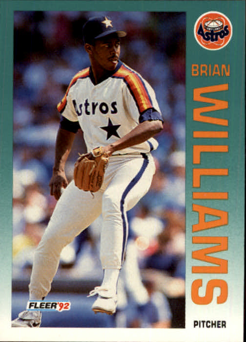 1992 Fleer Update #88 Brian Williams RC