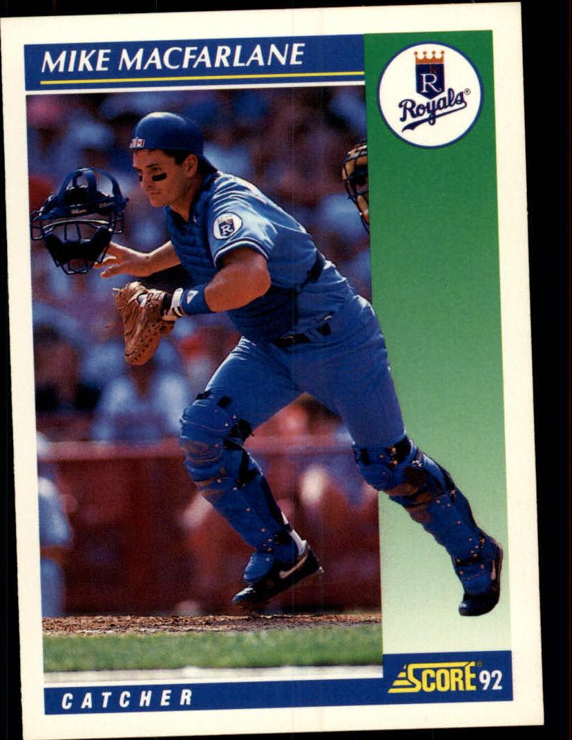 1992 Score #27 Mike Macfarlane