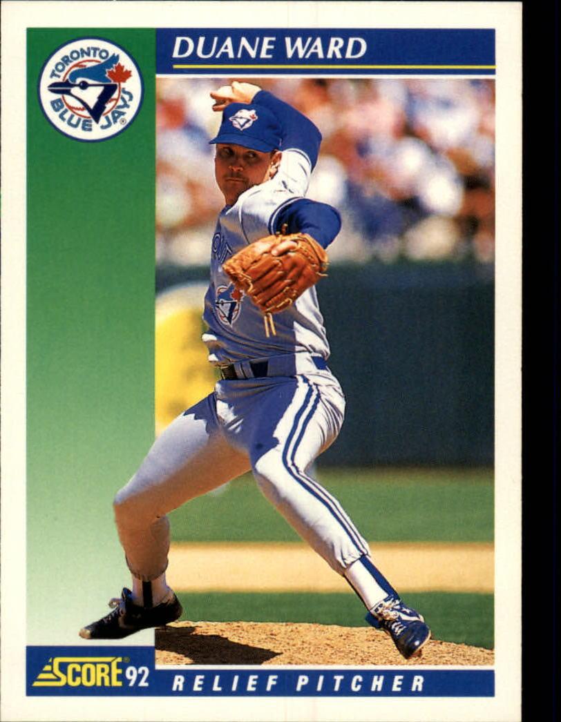 1992 Score #48 Duane Ward