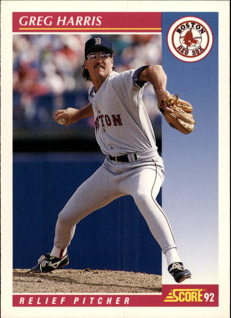1992 Score #156 Greg A. Harris