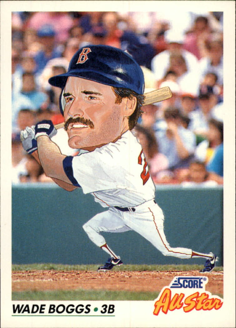 1992 Score #434 Wade Boggs AS